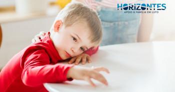 Capa Sinais Alarmantes do Luto Infantil
